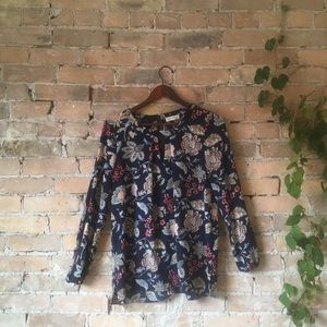 Faith and Joy Floral Blouse